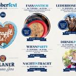 2016_Paulaner Wirtshaus Gera_Oktoberfest 2016_Programm a